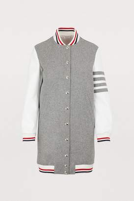 Thom Browne Long wool jacket