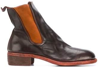 Guidi chunky heel Chelsea boots