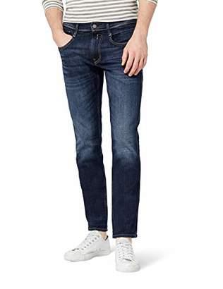 Replay Men's Anbass Slim Jeans, (Dark Blue Denim 7), W29/L30