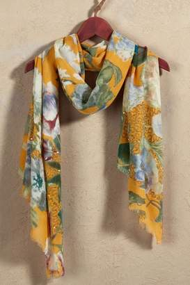 Soft Surroundings Tolani Floral Scarf