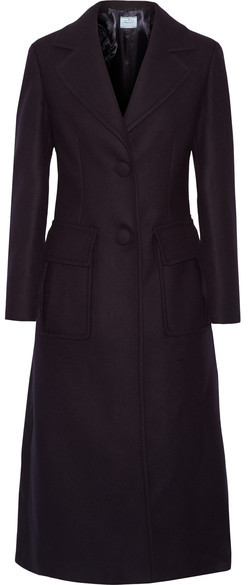 prada Prada - Wool-blend Coat - Midnight blue