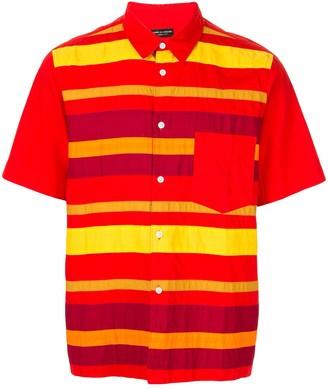 Comme des Garcons Pre-Owned striped button-front shirt