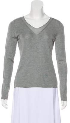 Akris Silk Knit Sweater grey Silk Knit Sweater