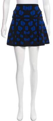Diane von Furstenberg Flote Mini Skirt