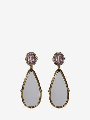Alexander McQueen Frame Earrings