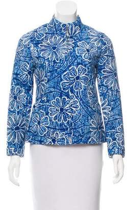 Versus Floral Zip-Up Jacket