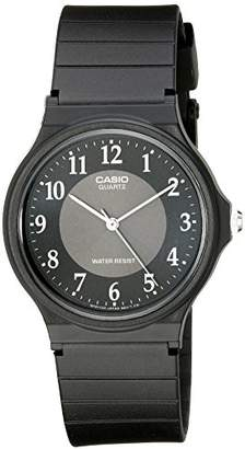 Casio Men's MQ24-1B3 Watch with Rubber Band
