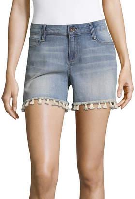 A.N.A Tassle Denim Shorts (3 1/2)