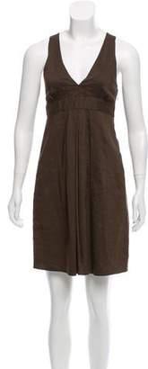 Theory Sleeveless Pleated Dress