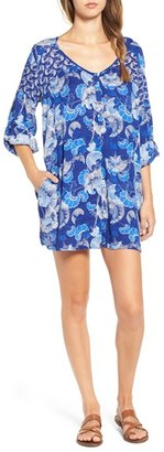 Roxy 'Metric' Floral Romper $54.50 thestylecure.com