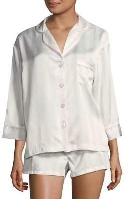 Sam Edelman Notch Striped Pajamas