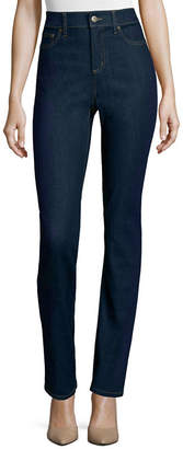 ST. JOHN'S BAY Womens Straight Leg Jean