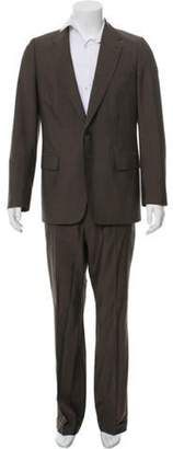 Dries Van Noten Wool Pinstriped Two-Piece Suit wool Wool Pinstriped Two-Piece Suit