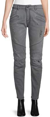 Pierre Balmain Women's Ripped Skinny Jeans