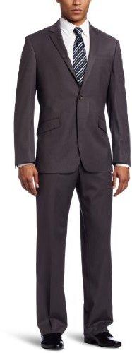 Kenneth Cole Reaction Men's 2 Piece Side Vent Suit