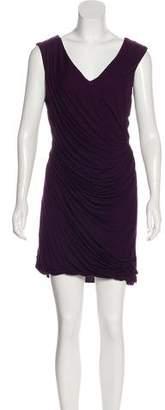 Diane von Furstenberg Ruched Mini Dress