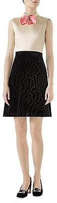 Gucci Women's Silk Duchesse Dress