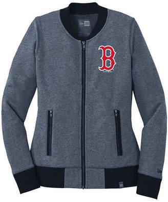 New Era Women's Boston Red Sox French Terry Full-Zip Jacket