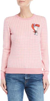 Love Moschino Gingham Sweater