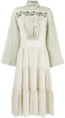 Chloé Victorian high neck dress