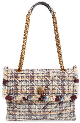 Kurt Geiger London Large Kensington X Tweed Shoulder Bag