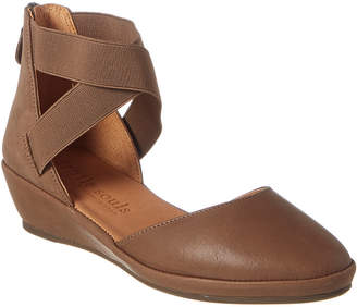 Gentle Souls By Kenneth Cole Noa Leather Wedge Sandal