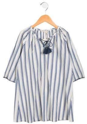 Babe & Tess Girls' Striped Shift Dress w/ Tags