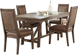 Liberty Furniture Stone Brook Trestle Dining Table