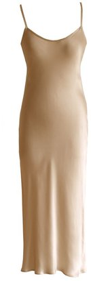 Lily Ashwell Gia Slip Dress - Honey Silk