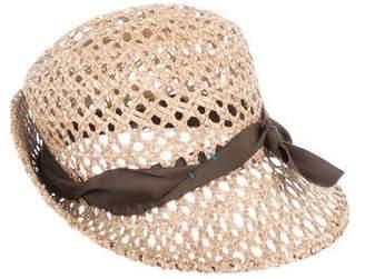 Lola Hats Straw Bow Hat