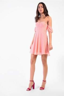Glamorous Womens **Sweetheart Skater Dress By Petites
