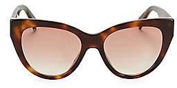 de47f4ca3c4 Gucci Women s 53MM Havana Cat Eye Sunglasses