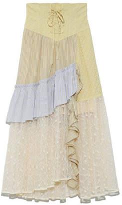 Snidel (スナイデル) - SNIDEL ストライプミックススカート
