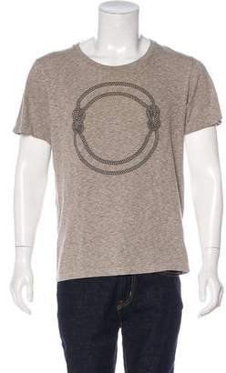Robert Geller Rope Graphic Print T-Shirt