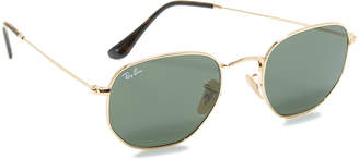 Ray-Ban Hexagonal Sunglasses $150 thestylecure.com