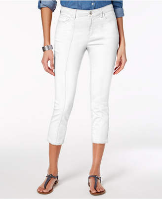 Style&Co. Style & Co Petite Front-Seam Capri Jeans, Created for Macy's