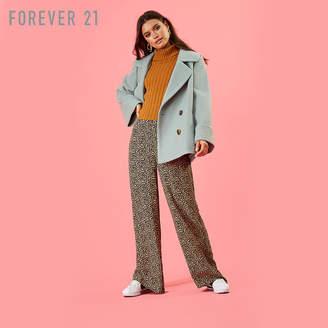 Forever 21 (フォーエバー 21) - Forever 21 ブラッシュドダブルブレストPコート