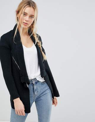 QED London Waterfall Knitted Jacket