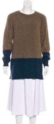 Closed Angora Colorblock Sweater