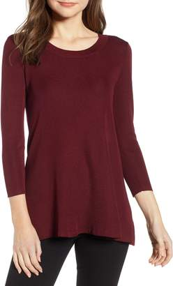 Anne Klein Scoop Neck Knit Top