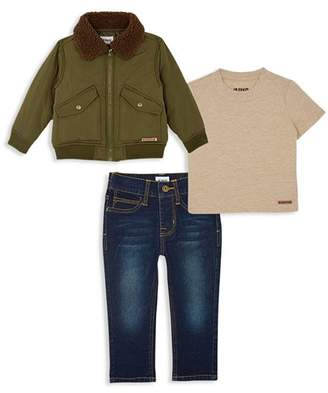 Hudson Boys' Jacket, Tee & Jeans Set - Little Kid