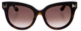 Valentino Cat-Eye Rockstud Sunglasses