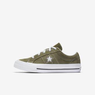Nike Converse One Star Vintage Suede Low TopBoys Shoe