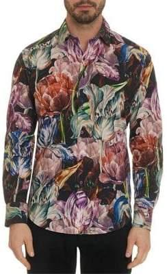 Robert Graham Acadia Floral Classic Fit Sportshirt