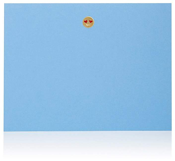 Connor Smiley-Face Emoji Notecard
