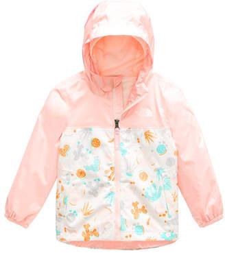 The North Face Zipline Printed Rain Jacket, Size 2-4T