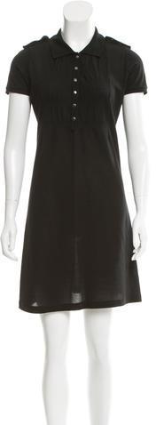 Burberry Burberry Nova Check-Trimmed Shirtdress