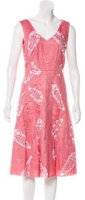 Tory Burch Sleeveless Cocktail Dress
