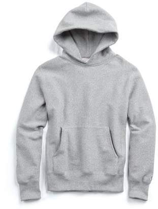 Todd Snyder + Champion Popover Hoodie in Light Grey Mix