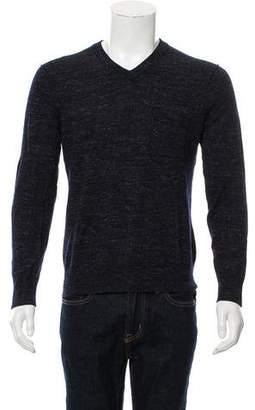 Vince Wool-Blend V-Neck Sweater